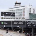 No, en el aeropuerto no hay pruebas pa' nadie